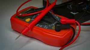 A Red & Black Multimeter