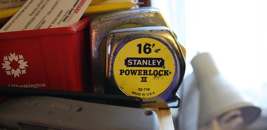 Stanley Silver 16 Feet Tape Measure