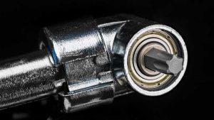 right drill attachment silver colour